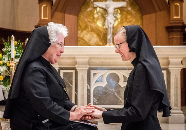 Profession of Perpetual Vows: Religious Sisters of Mercy of Alma