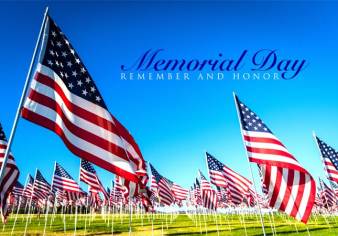 Memorial Day Cemetery Image