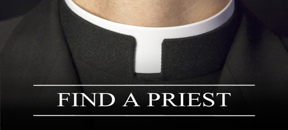 Find a priest